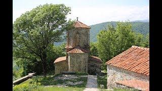 Монастырь Некреси ნეკრესის სამონასტრო, замок Греми გრემი, Кахетия, Алазанская долина, Грузия
