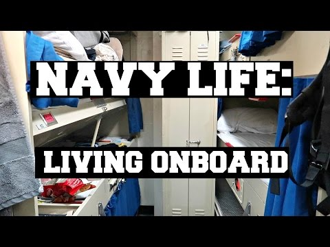NAVY LIFE: LIVING ONBOARD AN AIRCRAFT CARRIER
