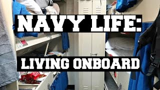 NAVY LIFE: LIVING ONBOARD AN AIRCRAFT CARRIER thumbnail
