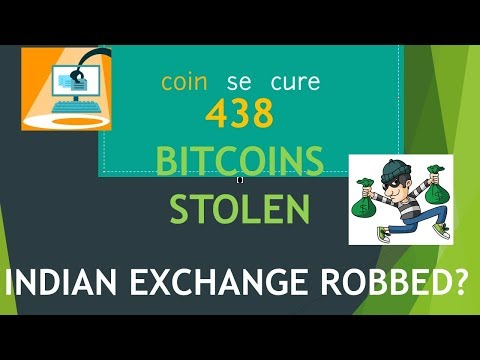 Coinsecure Hacked? | Bitcoin Exchange Hacked ? 438 BITCOINS stolen | BREAKING NEWS [ENGLISH]