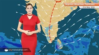 Weather Forecast May 21: Dry weather over Punjab, Rajasthan; rain in Karnataka, Interior Tamil Nadu