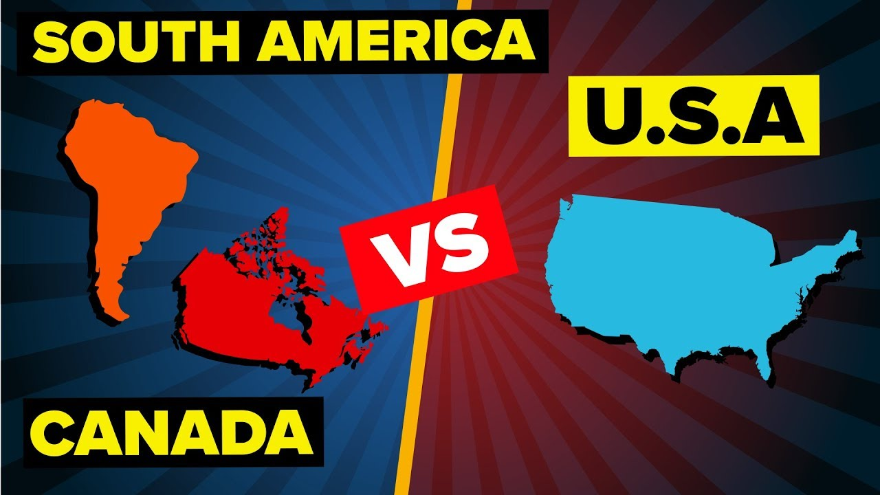 USA vs South America and Canada - Who Would Win