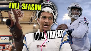 Jalen Suggs Stars In His Own Epic Football Show! Full Season Of DUAL THREAT 🔥