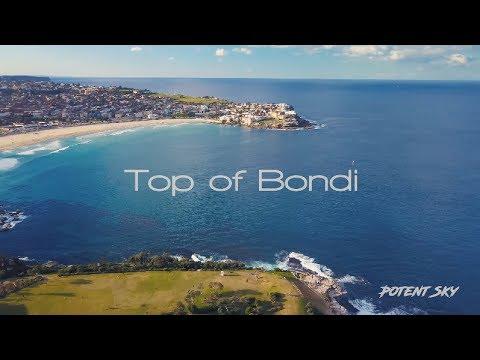 Top of Bondi - Amazing Bondi Beach - DJI Mavic Pro 4K