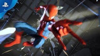 これもう映画だろ!PS4版「Marvel's Spider-Man」のリアルすぎるプレイ動画が鳥肌もの!