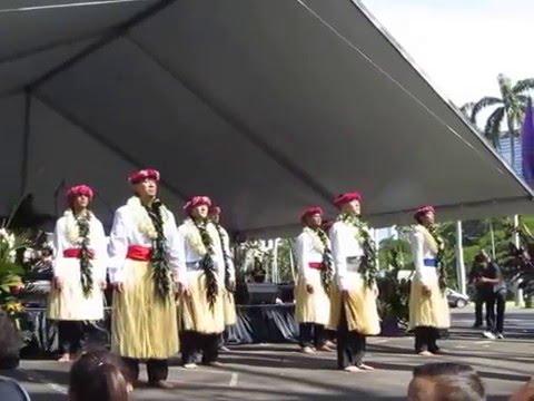 Hālau Nā Kamalei O Lililehua -- For King Kalakaua