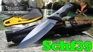 Cuchillo de Supervivencia SCHF39 Schrade