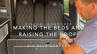 Making the bed and raising the roof