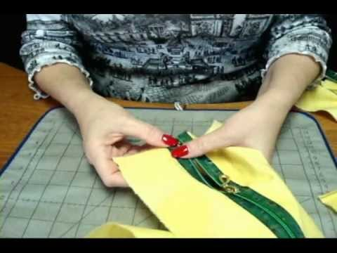 How To Insert L'orna Separating Decorative Zippers