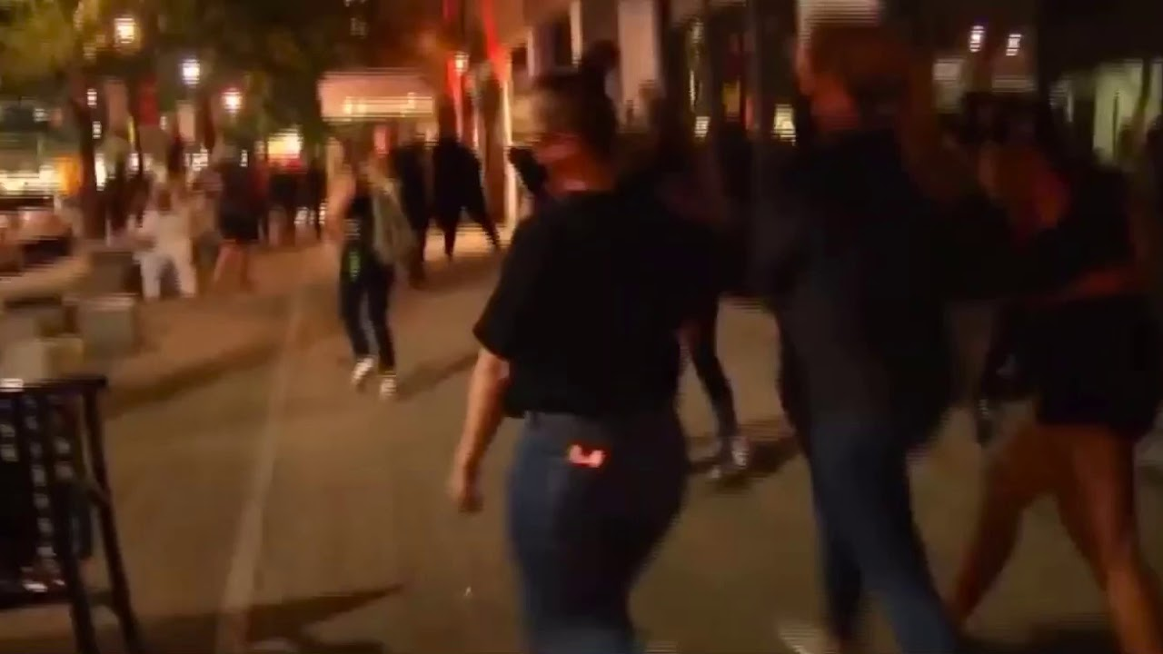 Downtown Raleigh NC Protests Turn Ugly