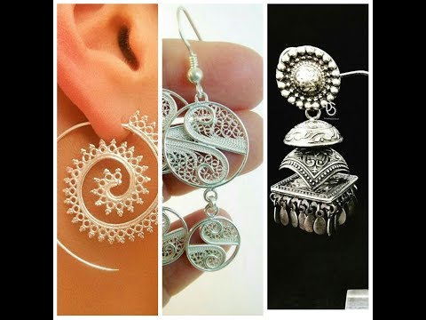 Silver Earrings Designs collection