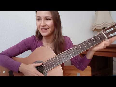 Мой папа хороший -  три аккорда Am Dm E /Классная детская песня на гитаре / Как играть