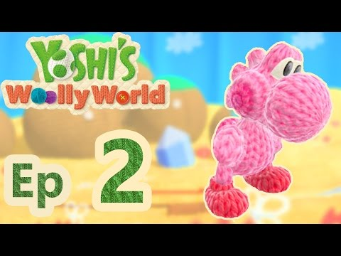 Amiibo Kirby Yoshi's Woolly World #02
