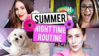 Summer NIGHT ROUTINE 2015 ♡ JamiePaigeBeauty