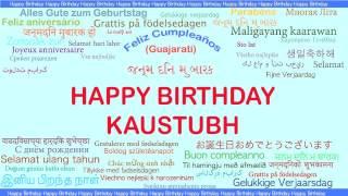 Kaustubh   Languages Idiomas - Happy Birthday