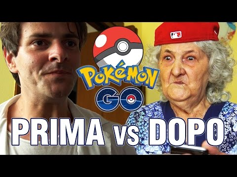 POKEMON GO - Prima vs Dopo - iPantellas