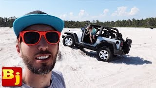 Our Rental Jeep Broke at Jeep Beach Jam in Panama City