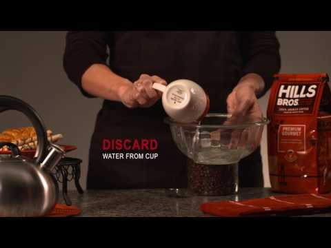 How to Brew Coffee with a Pour Over