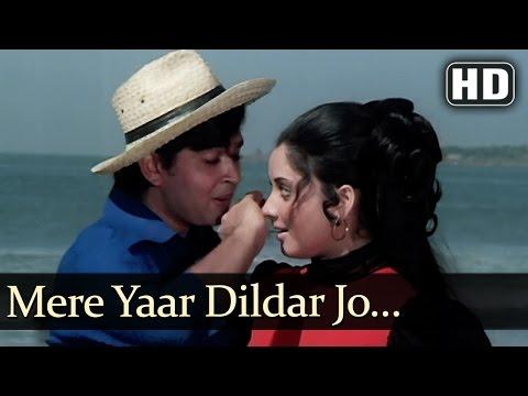 Nafrat  - Mere Yaar Dildaar Jo Na Hota - Kishore Kumar - Asha Bhosle