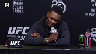 UFC 230: Israel Adesanya Post-Fight Press Conference -