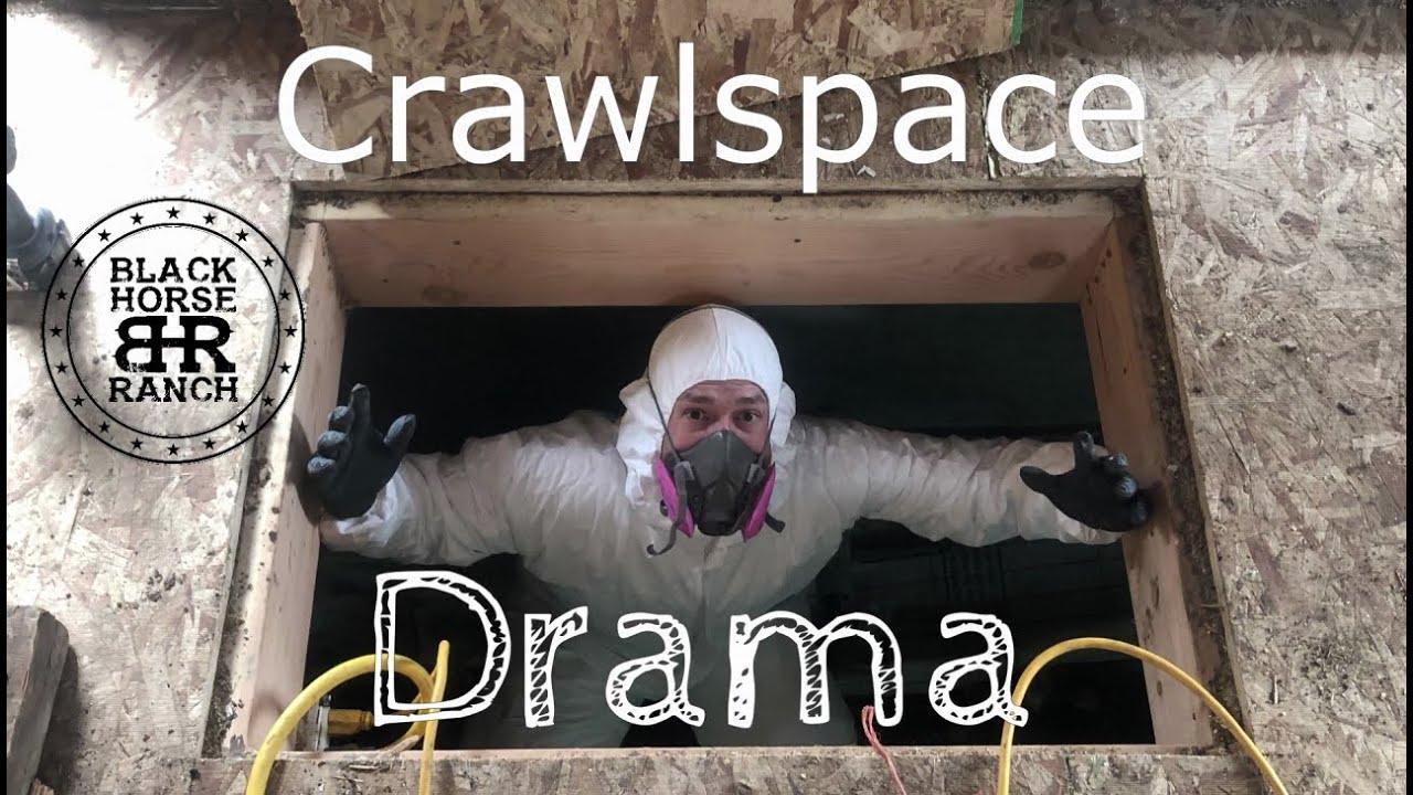 Historic Guest Barn Renovation - Episode 10, Crawlspace Drama