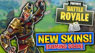 New Skins Coming Soon! Fortnite Battle Royale (PS4 Pro)