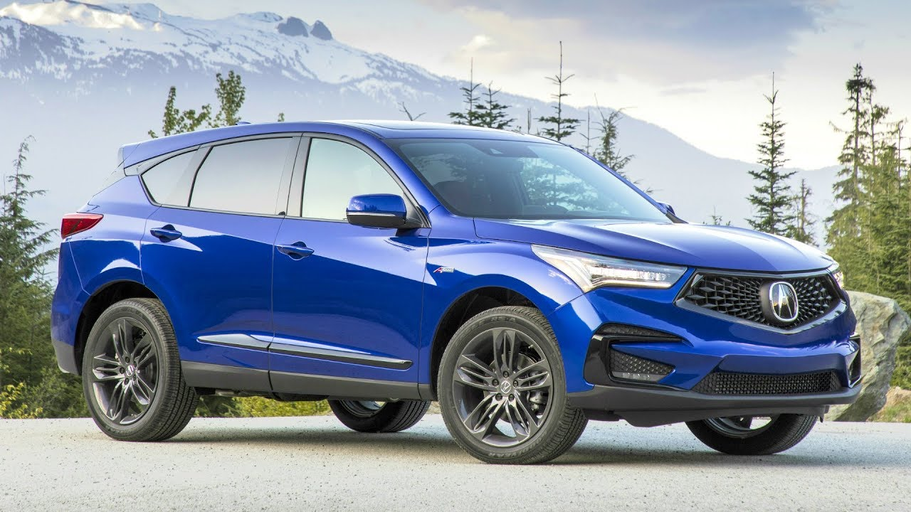 2019 Acura Rdx A Spec Design Performance And Luxury Youtube