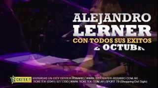 Alejandro Lerner | 11 de octubre City Center Rosario