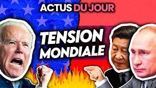 Tension mondiale et nouvelle guerre froide, reconfinement et détail des mesures... Actus du jour