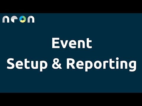 Event Setup & Reporting