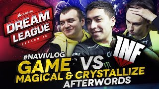 #NAVIVLOG: Game vs Infamous, MagicaL & Crystallize afterwords