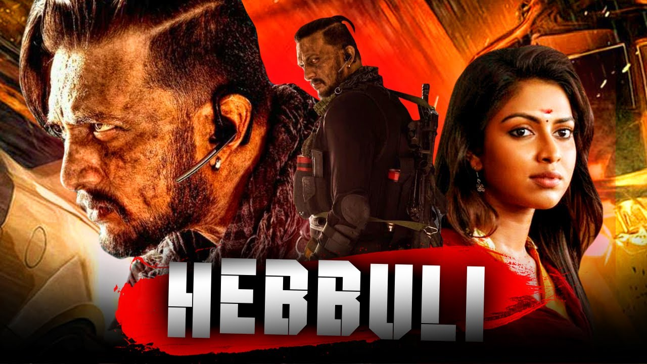 Sudeep Action Hindi Dubbed Full HD Movie l Hebbuli l Amala Paul l South Superhit Best Full HD Movie