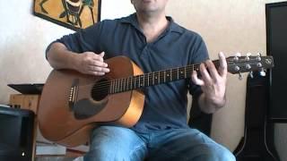 Une rythmique guitare pour Hexagone - Renaud