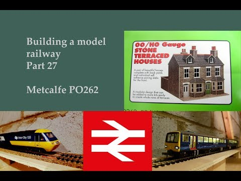 Part 27 Quick update Metcalfe PO262 – Building a model railway