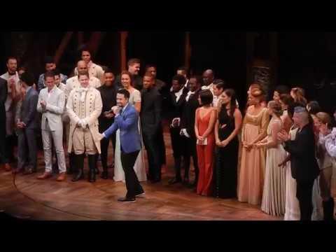 Hamilton LA Cast, Creatives, And Lin-Manuel Miranda