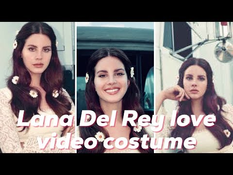 Lana Del Rey Love Halloween Costume Youtube