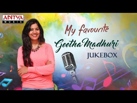 My Favourite ♥ Geetha Madhuri Telugu Hit Songs Jukebox Vol.2