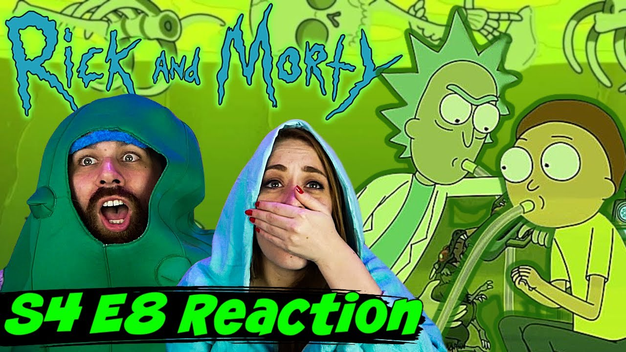 """Download Rick and Morty S4 E8 """"The Vat of Acid Episode"""" Reaction & Review! - REACTIONS ON THE ROCKS!"""