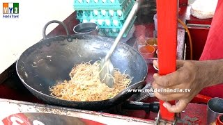 How to Make Spicy Masala Egg Noodles   INDO CHINESE RECIPES   STREET FOODS 2016