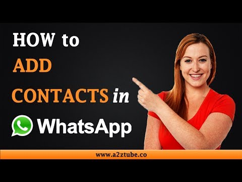 How to Add Contacts in WhatsApp on an Android Device