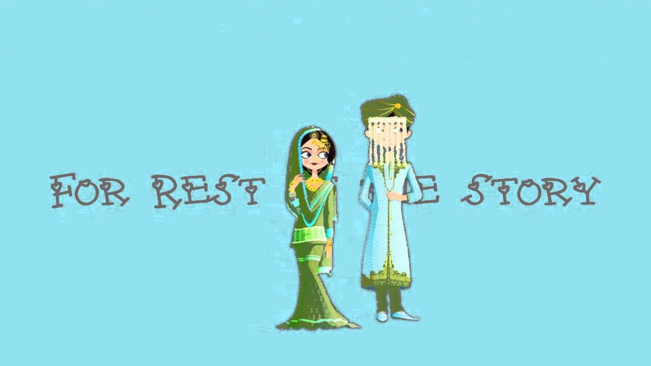 Muslim Animated Wedding Video Invitation - INDIAN MUSLIM WEDDING ...
