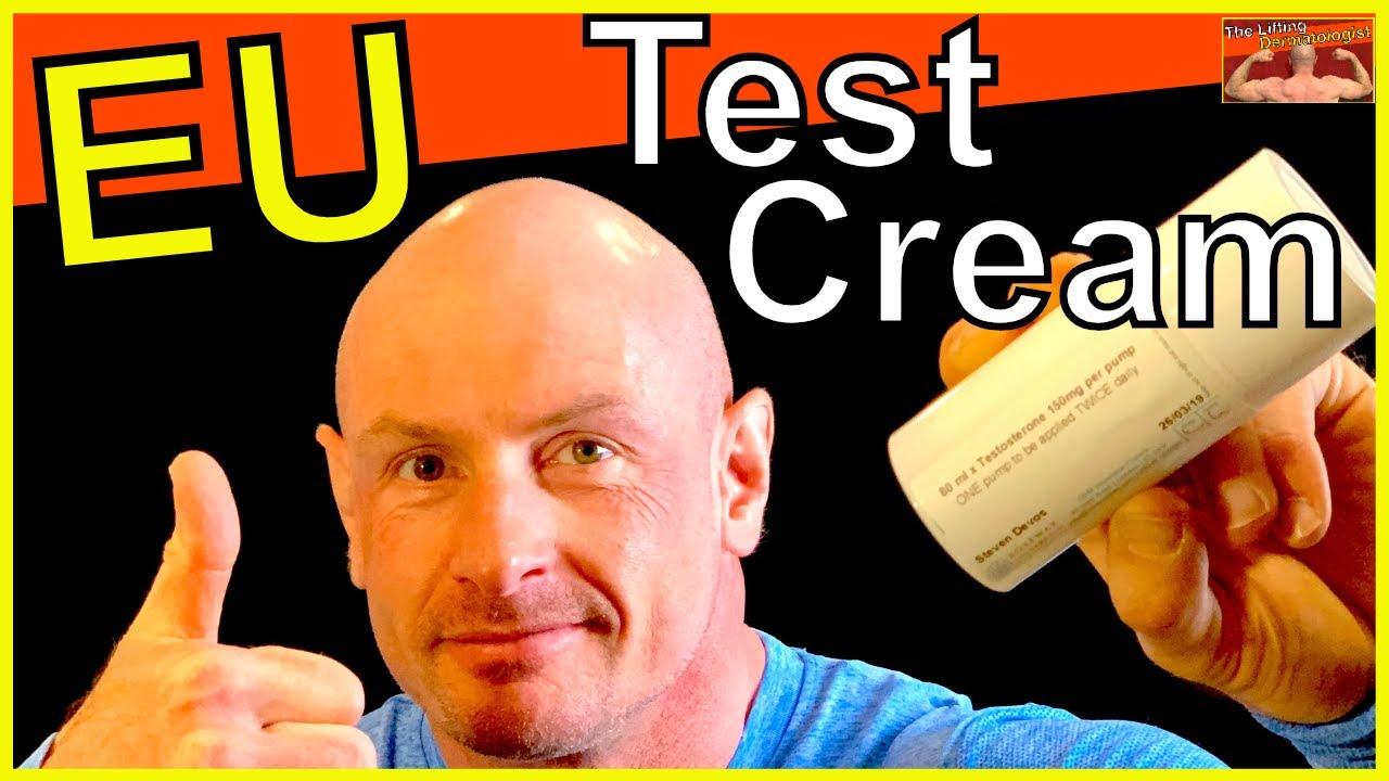 Testosterone Cream For Men in Europe - YouTube