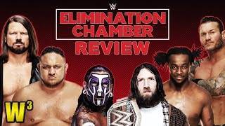 WWE Elimination Chamber 2019 Review | Wrestling With Wregret