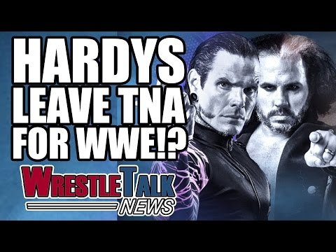 Matt & Jeff Hardy Leave TNA Impact Wrestling! Are They Going To WWE? | WrestleTalk News Feb. 2017