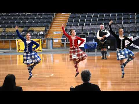 Scottish Highland Dancing - South Australia Championship Highland Fling Adelaide 2016