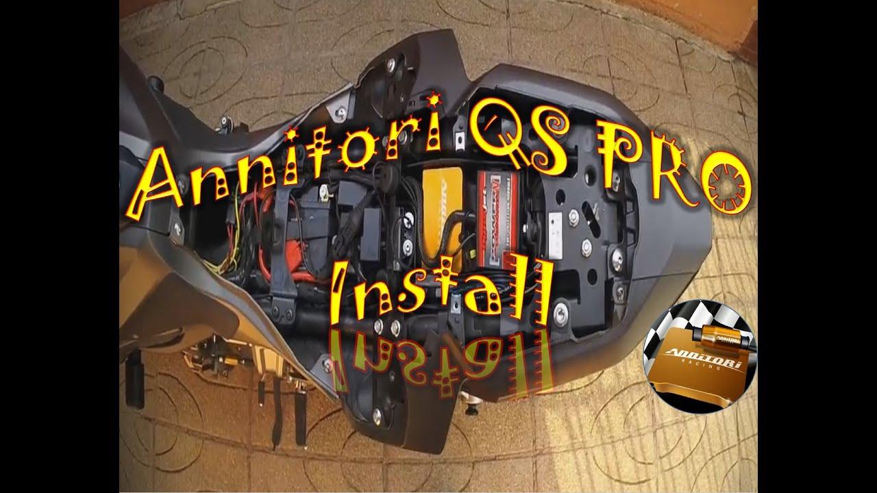 Annitori QS Pro 2016 - Install, Test & Review - Yamaha MT-07 FZ-07