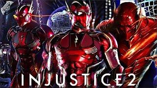 Injustice 2 Online - EPIC RED DEATH FLASH LOADOUT!