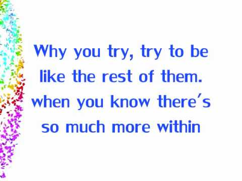 Britt Nicole - Headphones Lyrics HD