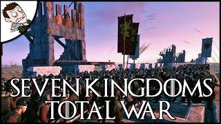 SIEGE OF KINGS LANDING! Seven Kingdoms Total War Mod Gameplay