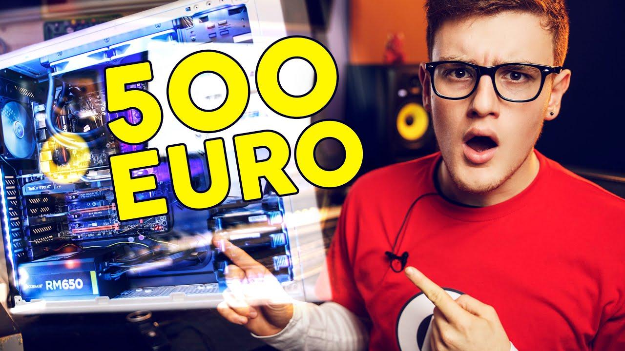 Pc gaming assemblare un pc con 500 euro youtube for Ecksofa 500 euro